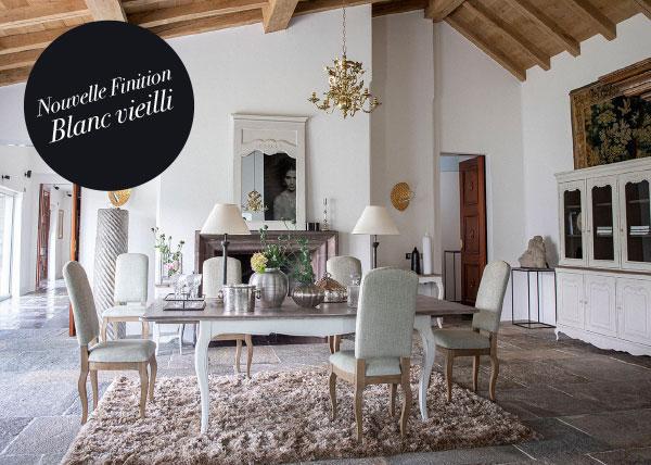 Nouvelle finition Château Blanc Vieilli