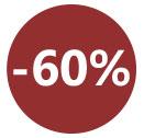 Soldes - 60 %