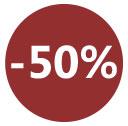 Soldes - 50%