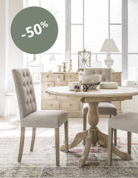 Table ronde Natural